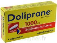 Doliprane 1000 Mg Suppositoires Adulte 2plq/4 (8) à Chinon