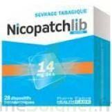 Nicopatchlib 14 Mg/24 H Dispositifs Transdermiques B/7 à Chinon